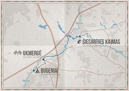 1.1_Siesarties-kaimas-Bugeniai_Baidares-Siesatis_Nuotykiuturizmas.lt